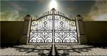 שער בעיצוב מרהיב - עולם הגידור - תכנון ויצור גדרות