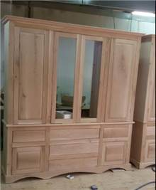 ארון 4 דלתות מעץ
