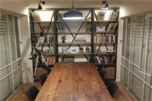 ספריה בעיצוב מודרני