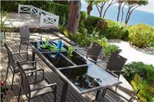 שולחן גינה מאלומיניום קטרין - לה גן