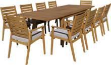 שולחן נפתח ענק עץ ברזילאי