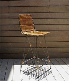 כסא בר דקורטיבי דגם טסיפי - העץ הנדיב