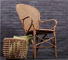 כסא מבמבוק וראטן דגם סבא