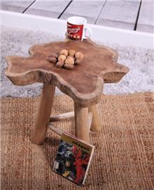 כסא שרפרף מעץ טיק דגם ינאי - העץ הנדיב
