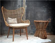 כורסא מעוצבת דגם איילה - העץ הנדיב