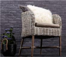 כורסא מראטן טבעי דגם צופית