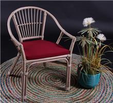 כורסא מבמבוק טבעי דגם הדר  - העץ הנדיב