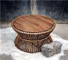 שולחן סלון מראטן דגם רועי 2