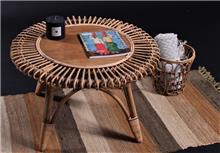 שולחן סלון מבמבוק טבעי דגם טוהר