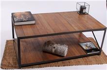 שולחן סלון דקורטיבי דגם גלבוע - העץ הנדיב