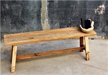 ספסל מעץ טיק דגם חרוב - העץ הנדיב