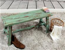 ספסל ישיבה מעץ מהגוני