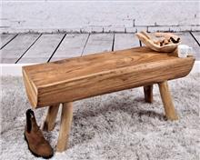 ספסל מעץ טיק ממוחזר דגם שנקר - העץ הנדיב