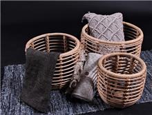 סט 3 סלים מבמבוק טבעי דגם סלע - העץ הנדיב