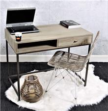 שולחן כתיבה מעץ מלא דגם כפיר