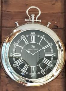 שעון קיר נירוסטה - רהיטי אדרי