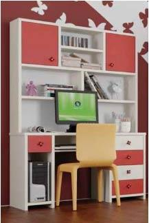 שולחן כתיבה וכוננית ליטל - רהיטי נעורים