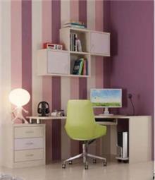 שולחן כתיבה וכוננית דנית - רהיטי נעורים