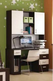 שולחן כתיבה וכוננית בר - רהיטי נעורים