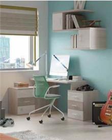 שולחן כתיבה וכוננית עידו - רהיטי נעורים
