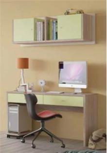 שולחן כתיבה וכוננית שגיא