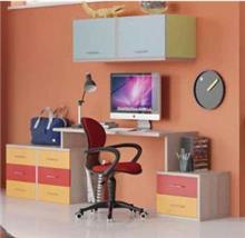 שולחן כתיבה וכוננית מור - רהיטי נעורים