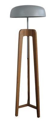 מנורת עמידה ברונט עץ