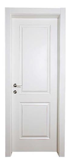 דלת דגם ישר