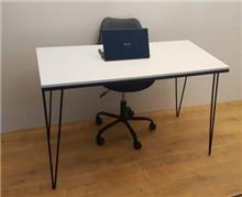 שולחן כתיבה/משרדי דגם TIKA - צבע לבן