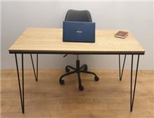 שולחן כתיבה/משרדי דגם TIKA - בצבע אלון