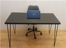 שולחן כתיבה/משרדי דגם TIKA - צבע שחור