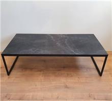 שולחן סלוני דגם Marble Black מלבני דמוי שיש