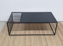 שולחן סלון מלבני עם מגש דגם Lines