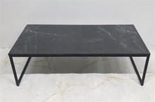 שולחן סלוני מלבן דגם Marble Black