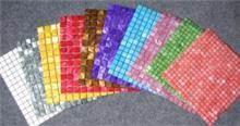 פסיפס במגוון צבעים מרהיבים