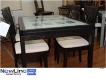שולחן אוכל מעץ מלא דגם 4