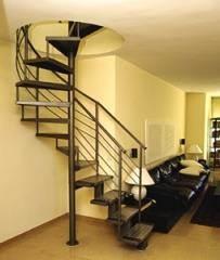 מדרגות מערכת משולבת שחורות - קו נבון