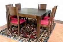 שולחן וכיסאות עץ אלון צרפתי