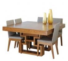 שולחן מרובע עץ אלון צרפתי