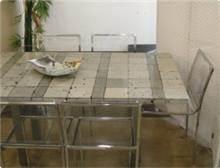 שולחן אוכל בסגנון מודרני ביר זית