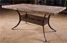 רגלי אלומיניום ''קאי'' לשולחן מלבני