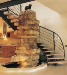מדרגות קורה - קו נבון