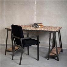 שולחן עבודה חום