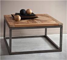שולחן מרובע מעץ מלא
