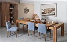 שולחן אוכל מעץ אלון