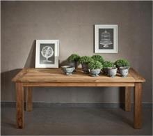 שולחן אוכל מעץ טיק