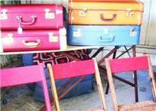 מזוודות ישנות