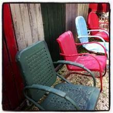 כסאות גינה