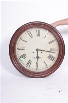 שעון קיר עגול עתיק