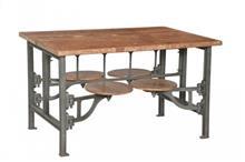 שולחן אוכל מקורי ומיוחד
